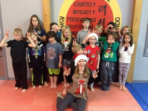 asheville-taekwondo-children-ninja-night